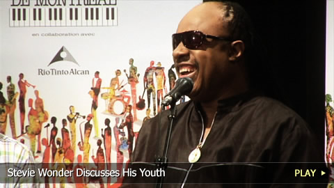 Stevie Wonder Discusses His Youth