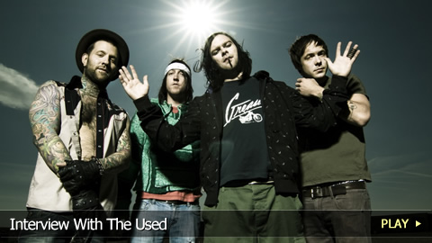 Interview With The Used