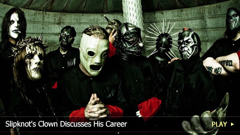 Slipknot's Clown Discusses His Career