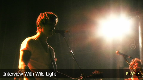 Interview With Wild Light
