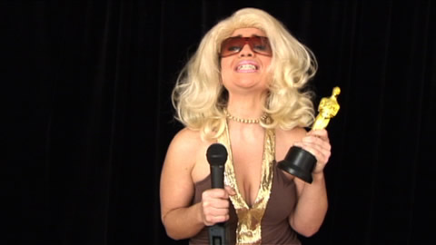 Oscar Winning Porn Star Skit