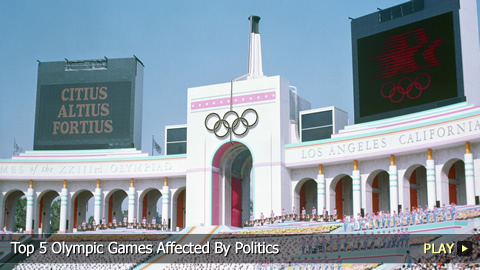 Top 5 Olympic Games Affected By Politics