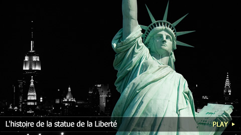 L'histoire de la statue de la Libert 