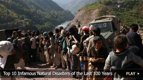 Top 10 Infamous Natural Disasters of the Last 100 Years