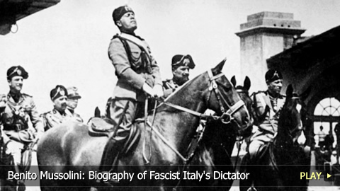 the life of the father of fascism benito mussolini Find out about benito mussolini on the of mussolini his father alessandro role in benito in 1993, which covered his life from his school.