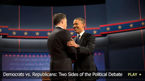 Democrats vs. Republicans: Two Sides of the Political Debate