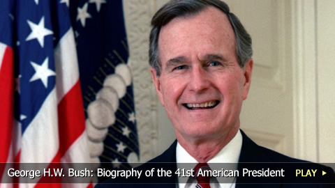 George H.W. Bush: Biography of the 41st American President 