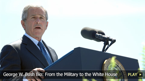 George W. Bush Bio: From the Military to the White House