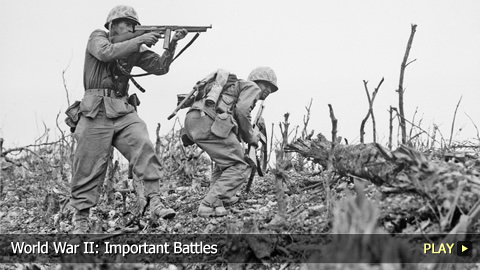 World War II: Important Battles