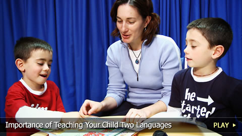 Importance of Teaching Your Child Two Languages