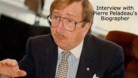 Profile on Quebecor Inc and Pierre Peladeau