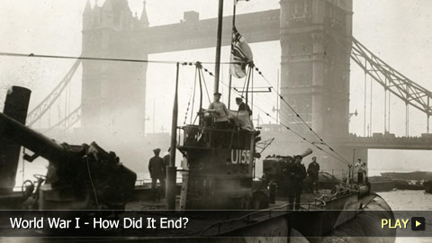 World War I - How Did It End?