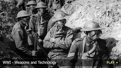 World War I - Weapons and Technology