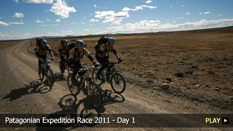 Patagonian Expedition Race 2011 - Day 1 of the Extreme Multi-Sport Race