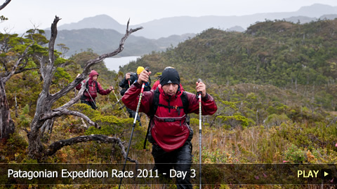 Patagonian Expedition Race 2011 - Day 3: Speed Mountain Biking, Trekking and Kayaking