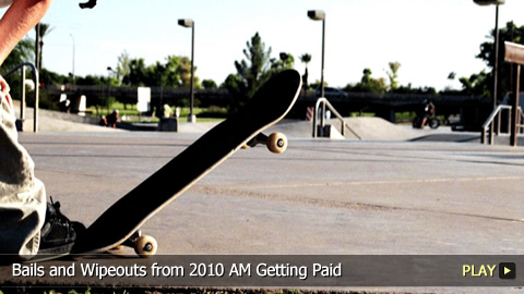 Bails and Wipeouts from 2010 AM Getting Paid