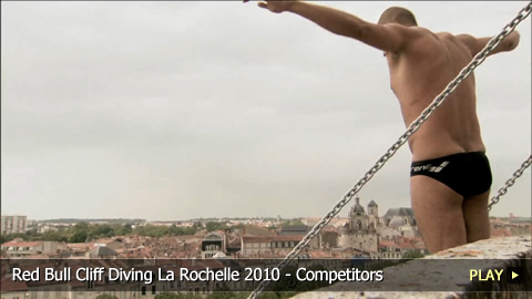 Red Bull Cliff Diving La Rochelle 2010 - Competitors