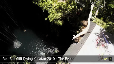 Red Bull Cliff Diving Yucatan 2010 - The Event