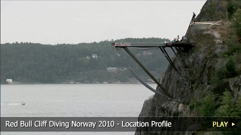 Red Bull Cliff Diving Norway 2010 - Location Profile