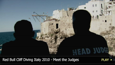 Red Bull Cliff Diving Italy 2010 - Meet the Judges