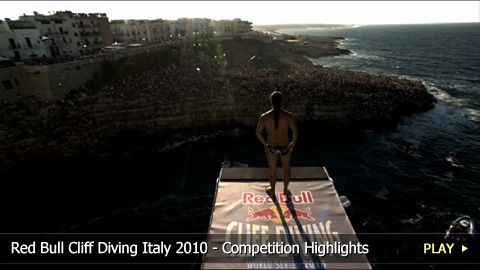 Red Bull Cliff Diving Italy 2010 - Competition Highlights