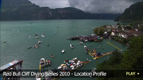 Red Bull Cliff Diving Sisikon 2010 - Location Profile