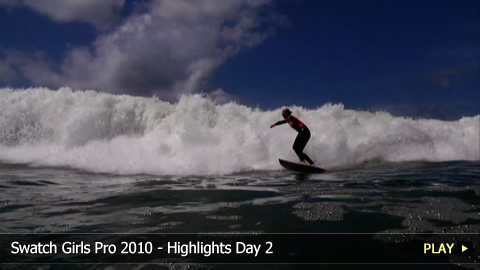 Swatch Girls Pro 2010 - Highlights Day 2