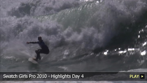 Swatch Girls Pro 2010 - Highlights Day 4