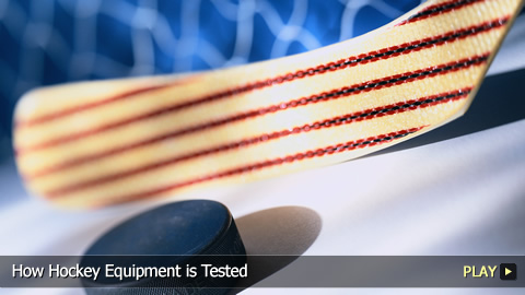 How Hockey Equipment is Tested