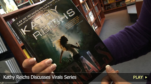 Kathy Reichs Discusses Virals Series