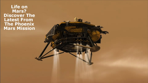 Learn About The Phoenix Mars Mission