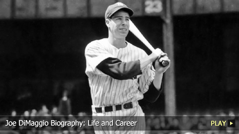 Joe DiMaggio Biography: Life and Career of Baseball's Yankee Clipper