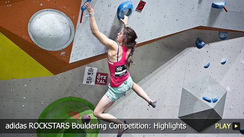 adidas ROCKSTARS Bouldering Competition: Rock Climbing Highlights