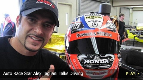Auto Race Star Alex Tagliani Talks Driving