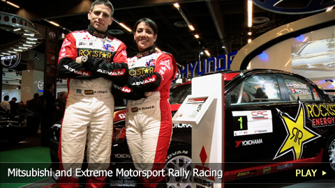 Mitsubishi and Extreme Motorsport Rally Racing