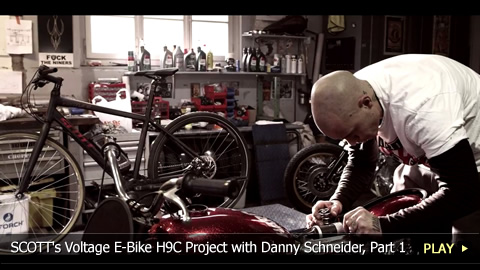 SCOTT's Voltage E-Bike H9C Project with Danny Schneider, Part 1