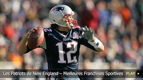 Les Patriots de New England  Meilleures Franchises Sportives