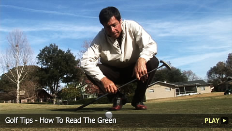 Golf Tips - How To Hit Out Of Green Side Rough
