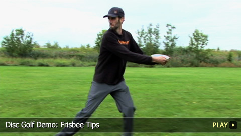 Disc Golf Demo: Frisbee Tips