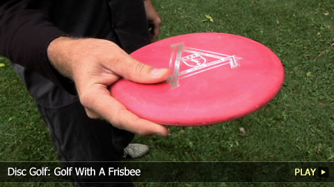 Disc Golf: Golf With A Frisbee