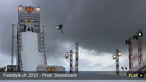 Freestyle.ch 2010 - Final: Snowboard