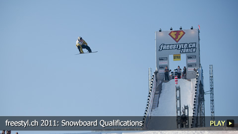 freestyl.ch 2011: Snowboard Qualifications at Europe's Biggest Freestyle Sports Event