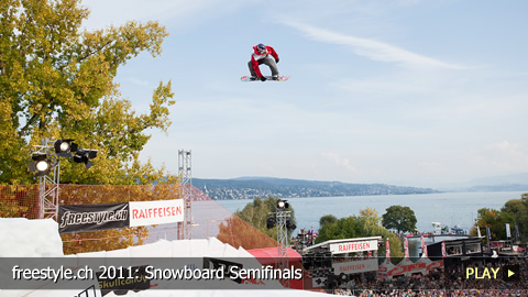 freestyle.ch 2011: Snowboard Semifinals at Europe's Biggest Freestyle Sporting Event