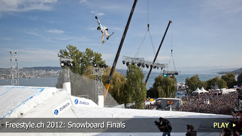 Freestyle.ch 2012: Snowboard Finals at Europe's Biggest Freestyle Event