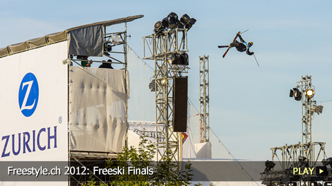 Freestyle.ch 2012: Freeski Finals at Europe's Biggest Freestyle Event