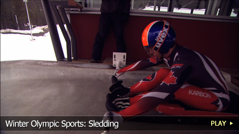 Winter Olympic Sports: Sledding