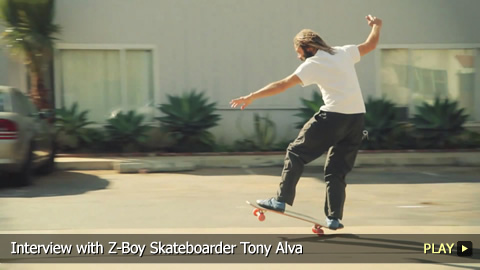 Interview with Z-Boy Skateboarder Tony Alva
