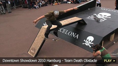 Vans Downtown Showdown 2010 Hamburg - Team Death Obstacle