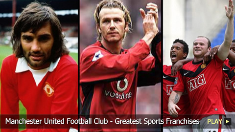Manchester United Football Club - Greatest Sports Franchises