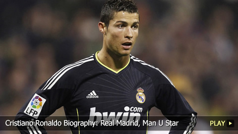 Cristiano Ronaldo Biography: Real Madrid, Man U Star